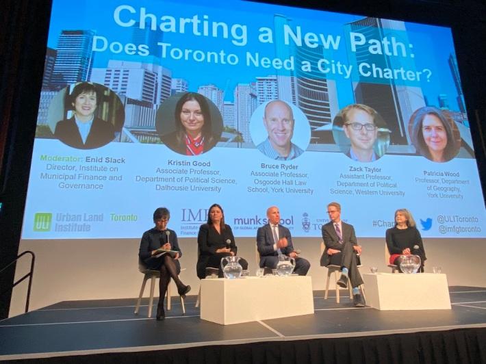 Toronto city charter event
